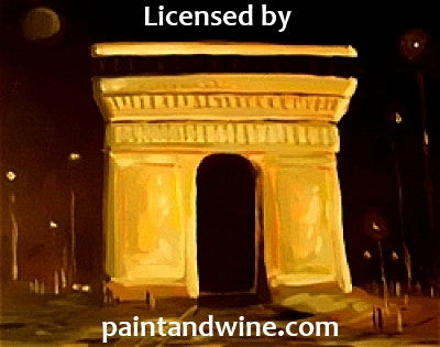"Fri, Sep 23, 7-10pm ""The Arc"" Public Houston Wine and Painting Class"