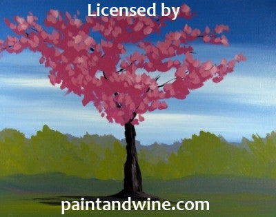 "Sat, Dec 7, 130-330p ""Cherry Tree"" Private Houston Kids Painting Party"