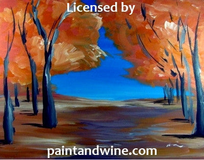 "Thu, Nov 9, 10-1130am ""Autumn Trees"" Private Houston Painting Class"