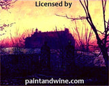 "Sat, Oct 14, 7-10pm ""The Haunted Mansion"" Public Houston Wine and Painting Class"