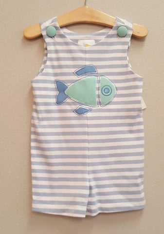 Stitchy Fish Fish Applique Knit JonJon
