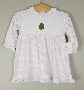Stitchy Fish Christmas Tree Crochet Dress