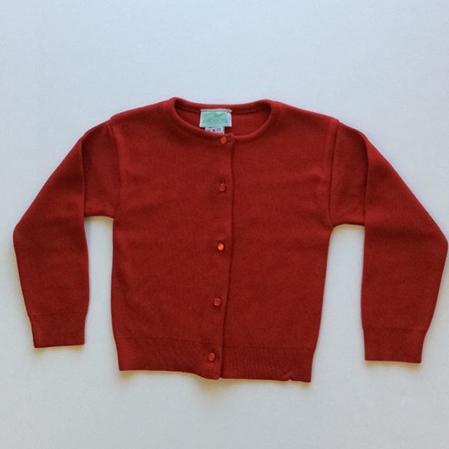Julius Berger Classic Cardigan - Red