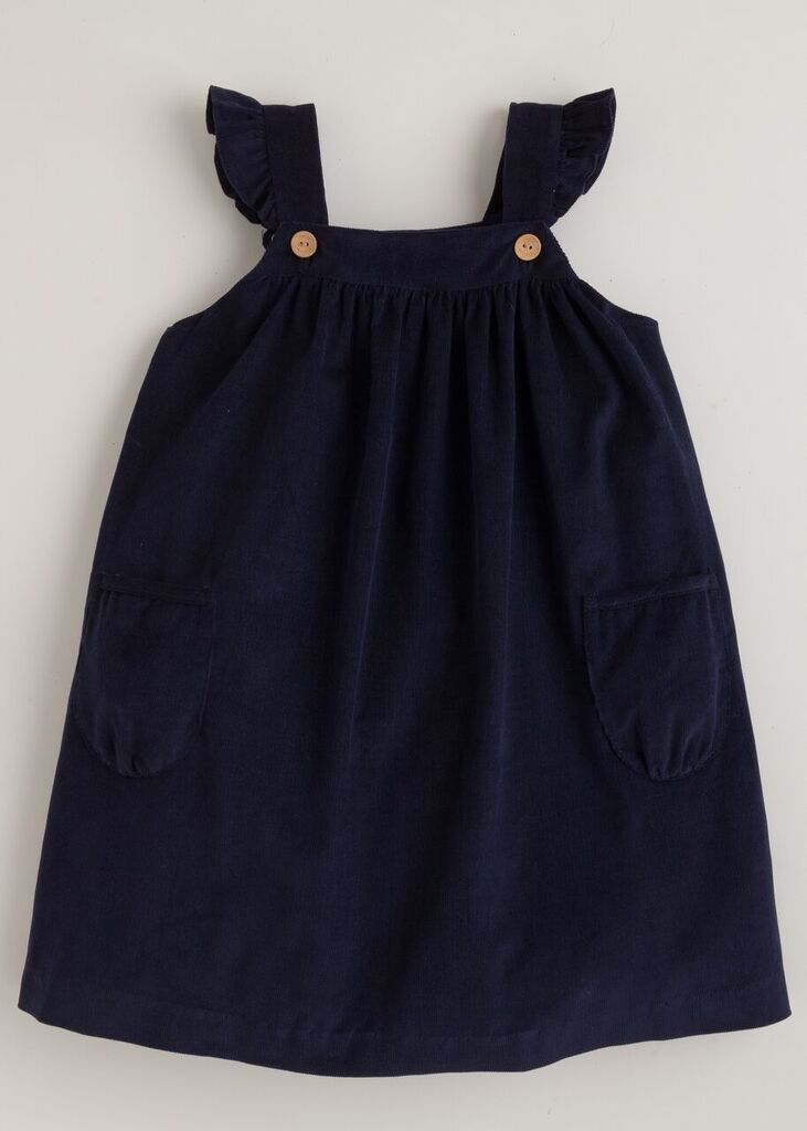 Little English Ruffled Jumper - Navy