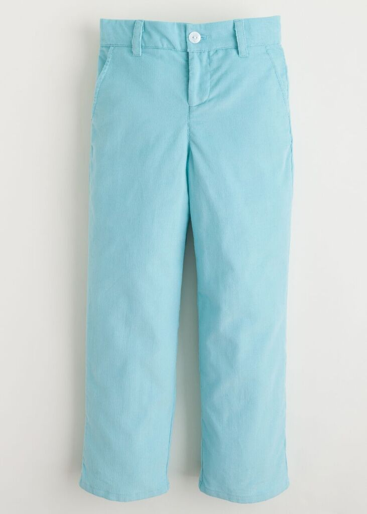 Little English Mint Straight Pant