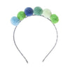 Mini PomPom Headband - Multiple Colors