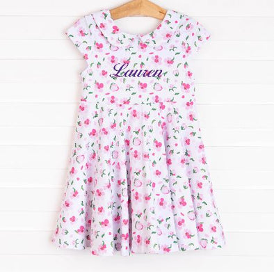Bella Dress, Pink Floral