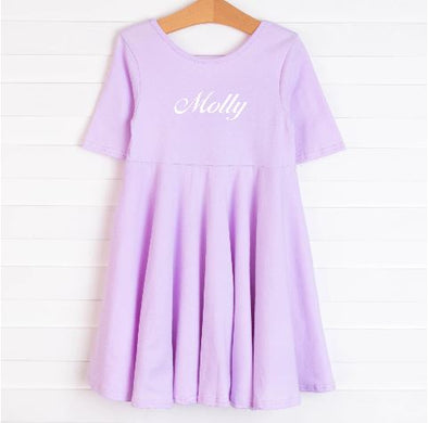 Leah Dress, Lavender