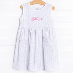 Strawberry Kisses Knit Dress, Pink