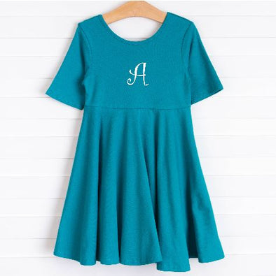 Zeal For Teal Dress, Teal