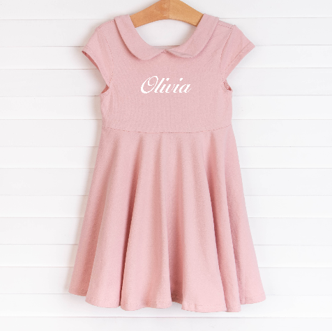 Bella Dress, Pink