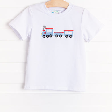 On the Railroad Shirt, White