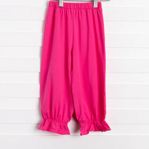 Audrey Ruffle Bloomer Pants (10 Colors) Older Girls