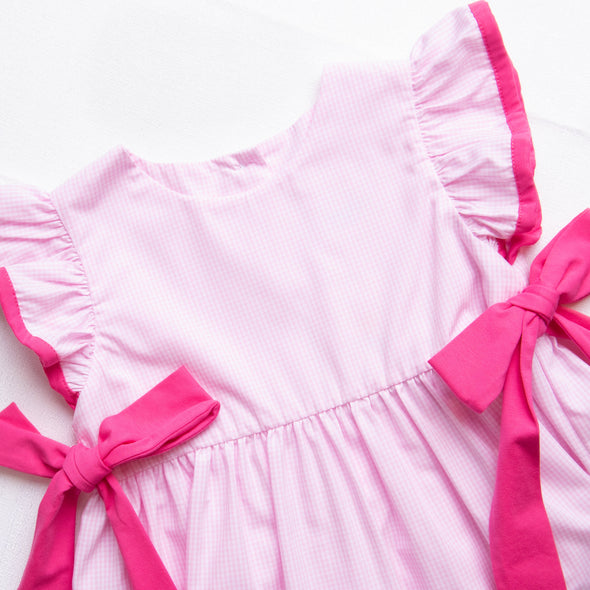 Pretty As a Bow Side Tie Dress, Pink