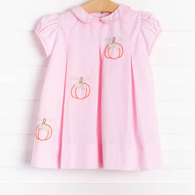 The Proper Peony Pink Pumpkin Dress