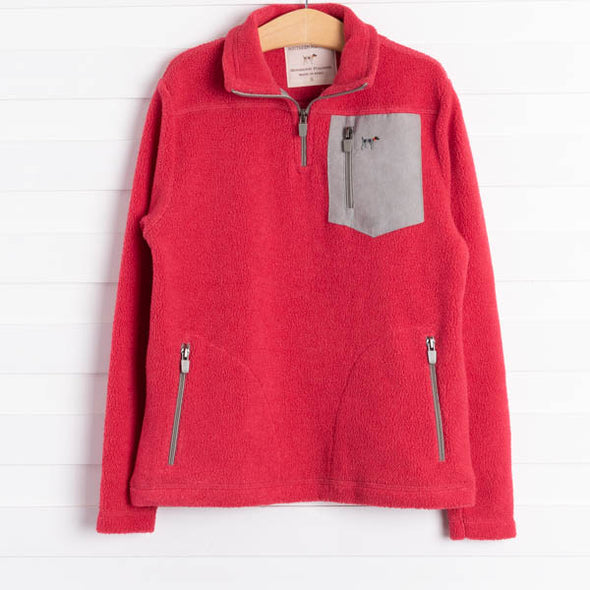 Southern Point Co. Bennington Pullover-Red