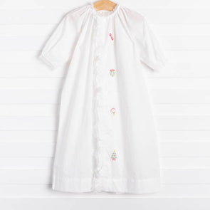 Baby Sen White Christmas Daygown Set