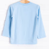 Cutest Clover Applique Shirt, Blue