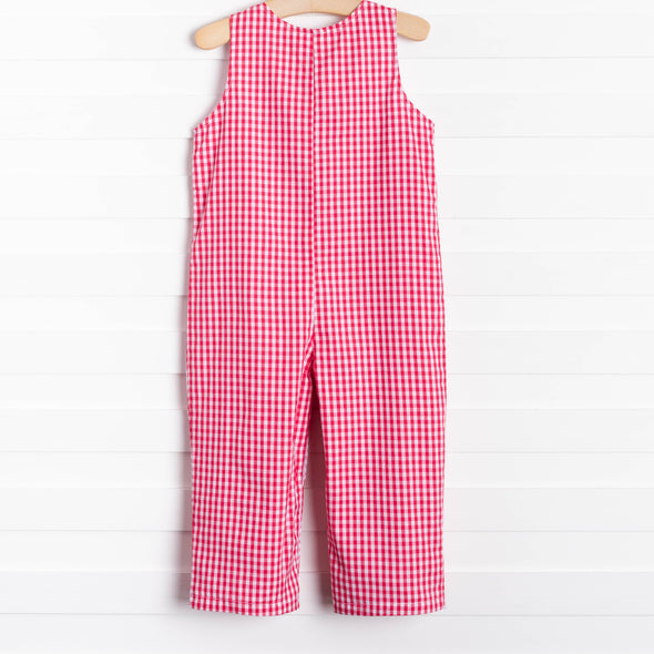 Gabriel Red Gingham Long Jon Jon