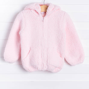 Angel Dear Snuggle Up Chenille Jacket, Pink