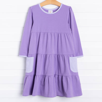 Betty Twirl Dress, Purple