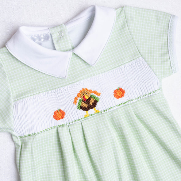Magnolia Baby Lil Turkey Playsuit