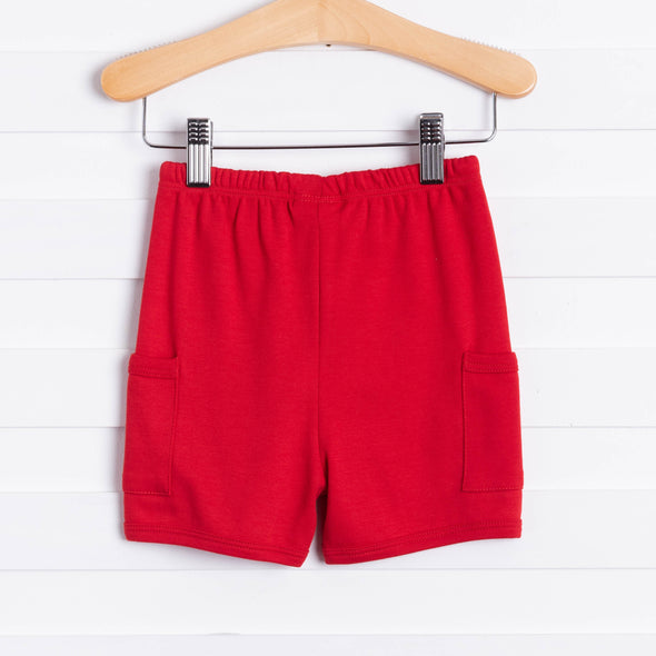Bellas Bliss Red Shorts