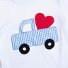 Driving Away With Your Heart Applique Pant Set