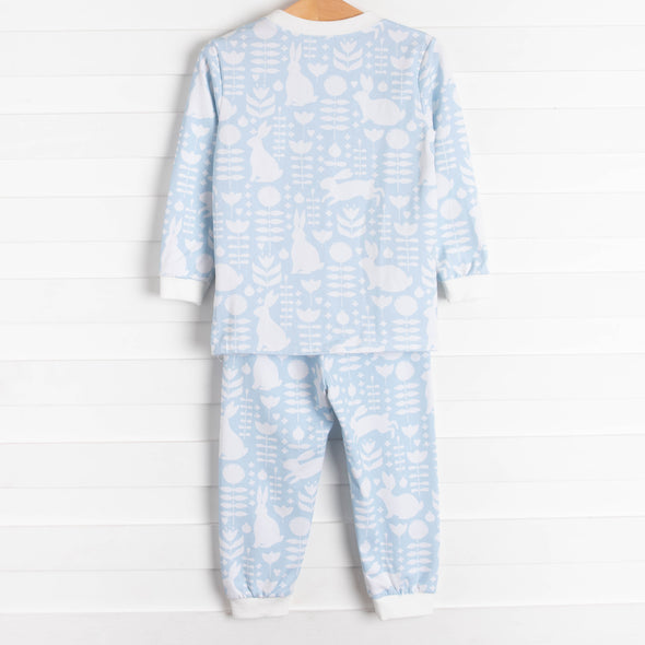 Snuggle Bunny Soft Set, Blue