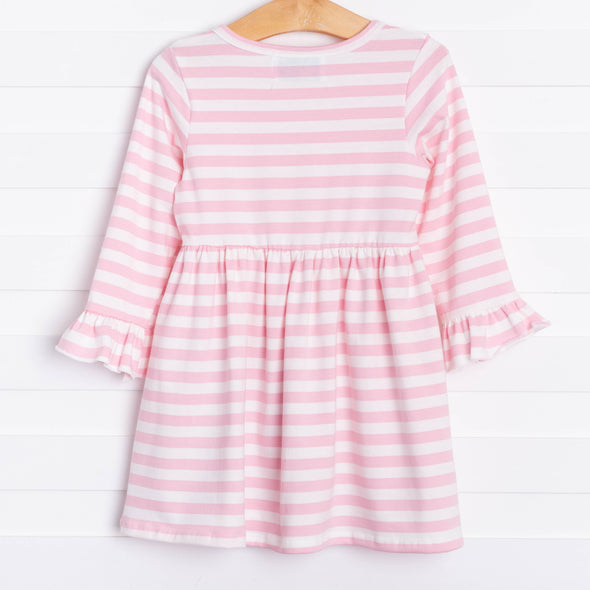 Toy Soldier Pink Striped Dress