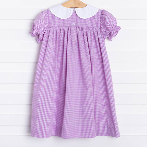 Bon Temps Embroidered Ruffle Dress