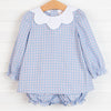 Little Boy Blue Short Set, Cloud Stripe