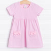 Think Pink Popover Dress, Pink