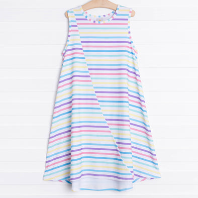 Kaleidoscope Stripe Dress
