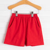 Knit Boy Pocket Shorts, Solid