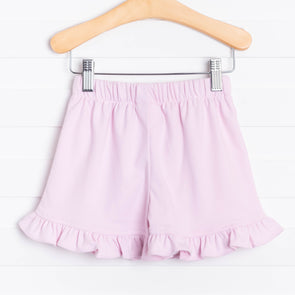 Knit Girl Ruffle Short, Solid (5 Colors)