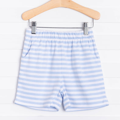 Knit Boy Pocket Short, Stripe (3 Colors)