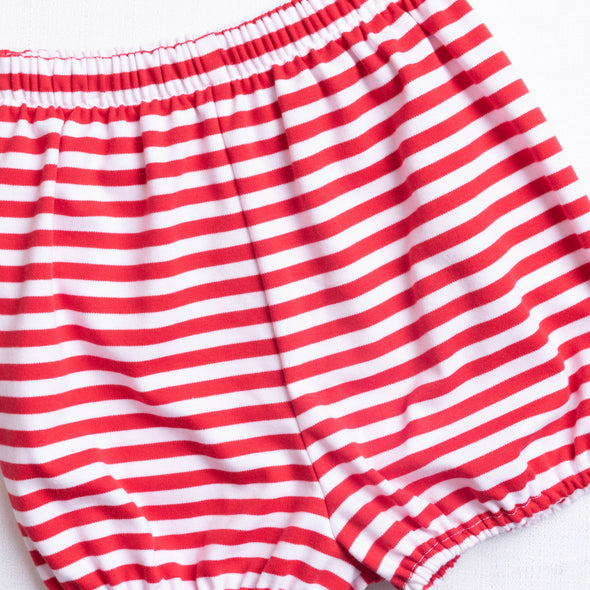 Knit Boy Bloomer Short, Stripe (3 Colors)