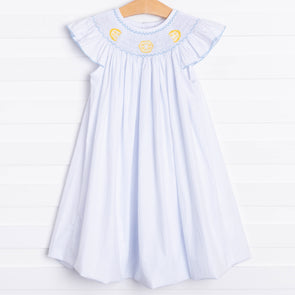 Lemon Drop Smocked Dress