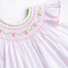 Strawberry Divine Smocked Bubble