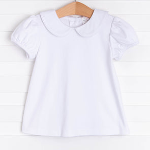 Allison Short Sleeve Shirt, White