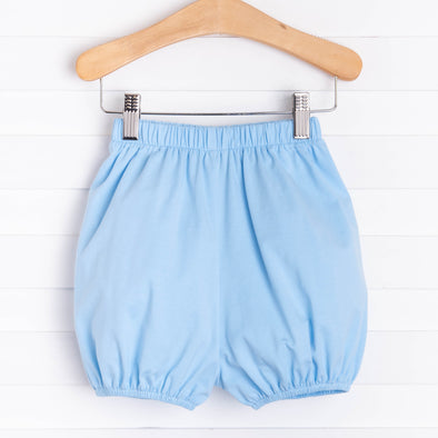 Knit Boy Bloomer Shorts, Solid