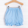 Knit Girl Ruffle Bloomer Shorts, Solid