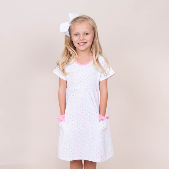 Pinkalicious Dot Dress, Pink
