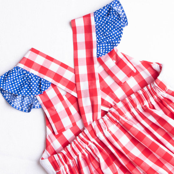 Party in the USA Dress, Red