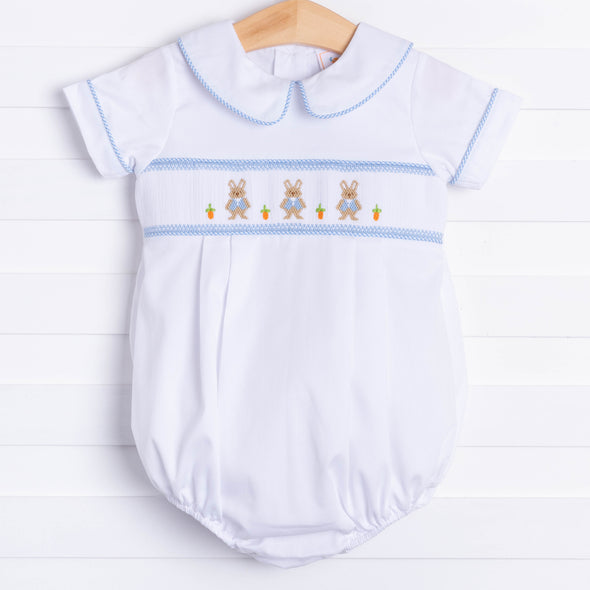 Peter Cottontail Smocked Bubble