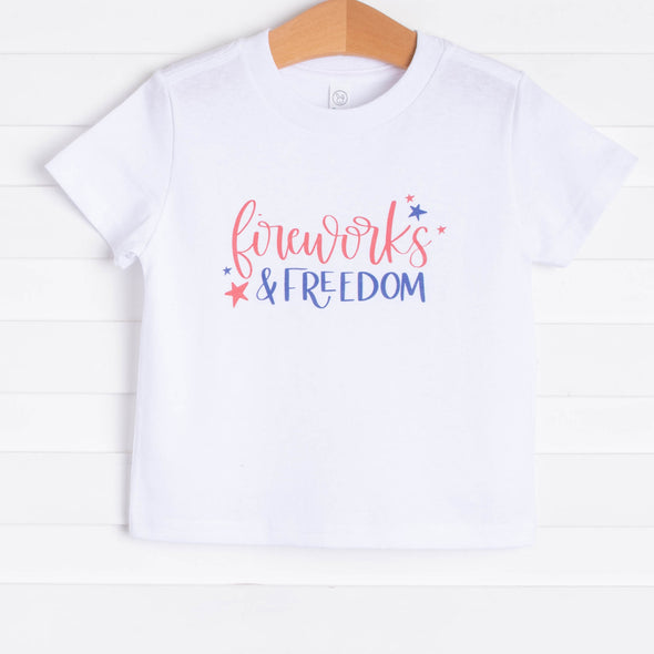 Fireworks and Freedom Graphic Tee