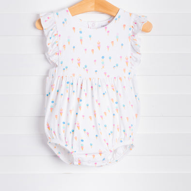 Ice Cream Ruffle Sunsuit