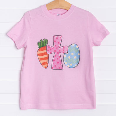 Easter Blessings Graphic Tee, Pink