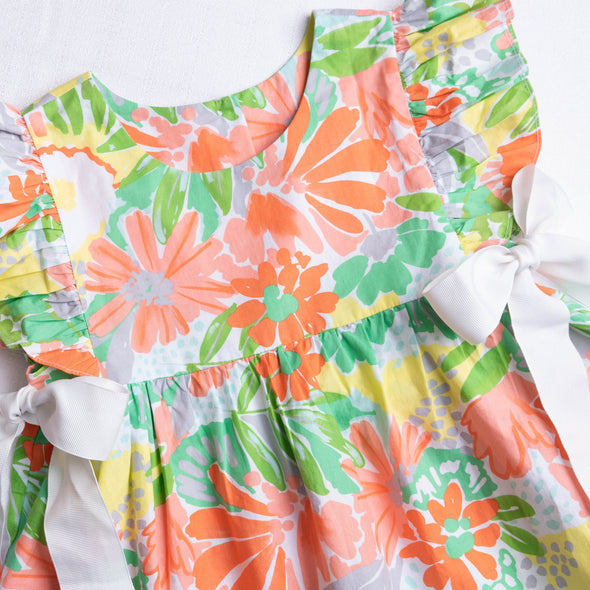 Three Sisters Sherbet Floral Bloomer Set